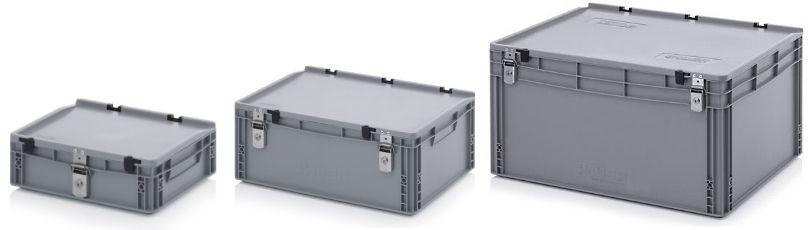 Afsluitbare kunststof box