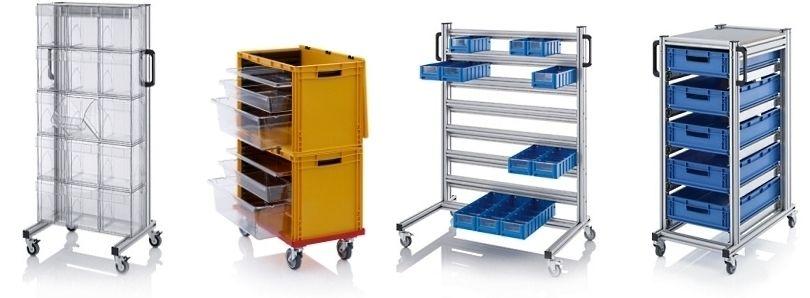 Kantelbakken modulewagen inclusief kiepbakken