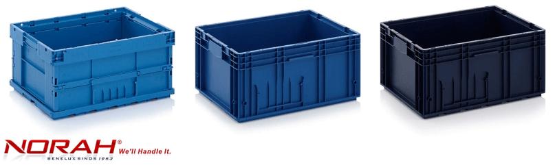 Kunststof bakken KLT geautomatiseerde productieprocessen