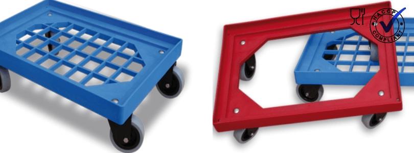 Transport onderstellen met rooster - Premium Kwaliteit