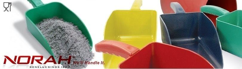 Kunststof handscheppen voor voeding en chemie