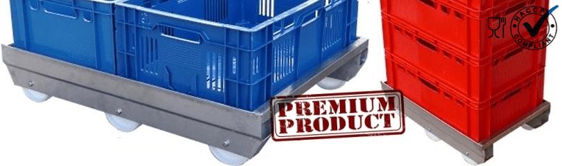 rvs transport onderstellen - premium kwaliteit