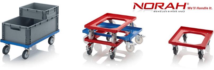 Onderstellen nylon wielen