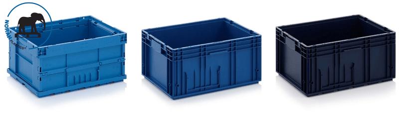VDA-KLT stapelbakken geautomatiseerde processen